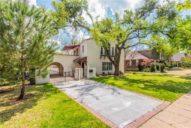 1846 Mayflower Drive, Dallas, TX 75208 (MLS #14062177) :: RE/MAX Town & Country