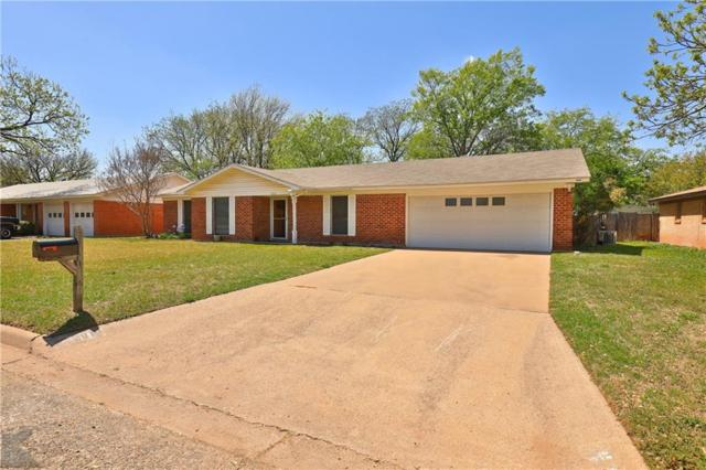 2010 Delwood Drive, Abilene, TX 79603 (MLS #14062755) :: RE/MAX Town & Country