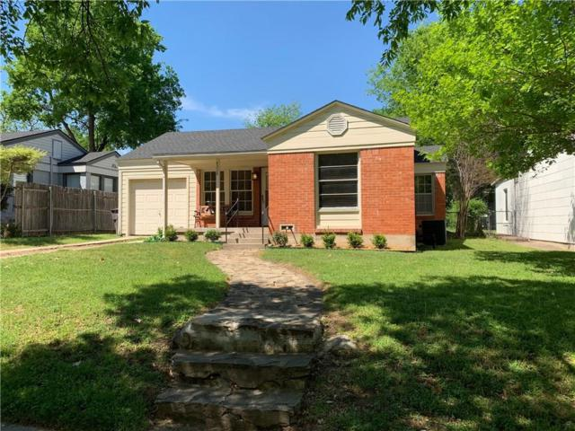 4308 Curzon Avenue, Fort Worth, TX 76107 (MLS #14063050) :: The Mitchell Group