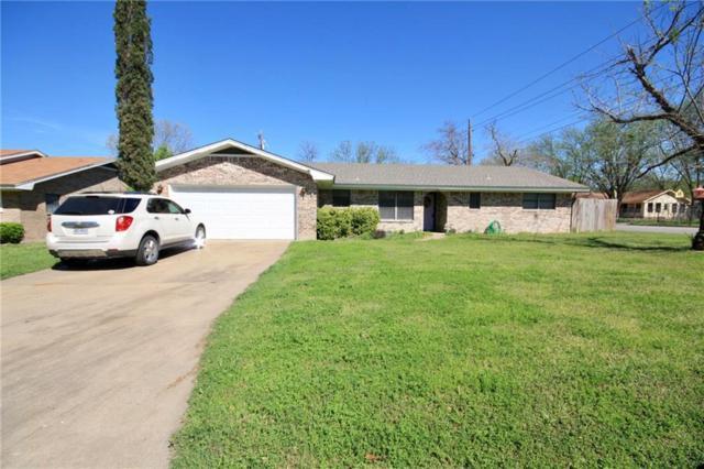 2601 Jasmine Street, Stephenville, TX 76401 (MLS #14063057) :: RE/MAX Town & Country