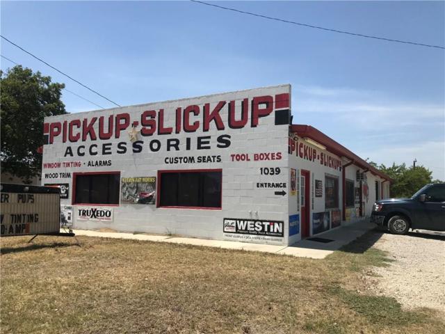 1039 W Commerce Street, Brownwood, TX 76801 (MLS #14063128) :: The Rhodes Team
