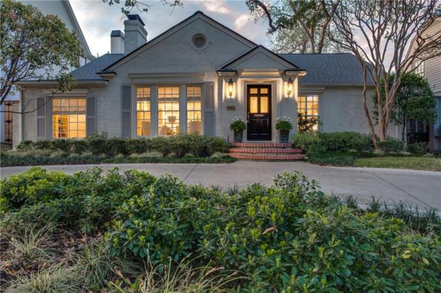 4538 Arcady Avenue, Highland Park, TX 75205 (MLS #14063368) :: The Chad Smith Team