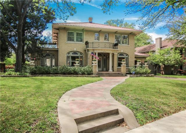 2440 Medford Court W, Fort Worth, TX 76109 (MLS #14063397) :: The Heyl Group at Keller Williams