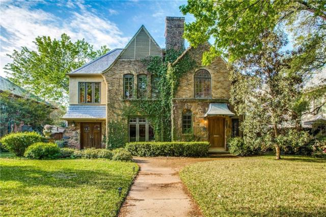 4411 Westway Avenue, Highland Park, TX 75205 (MLS #14063455) :: Van Poole Properties Group