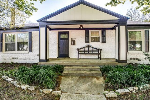 2749 Ryan Place Drive, Fort Worth, TX 76110 (MLS #14063745) :: RE/MAX Town & Country