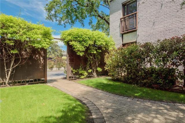 2722 Knight Street 405E, Dallas, TX 75219 (MLS #14063857) :: Van Poole Properties Group