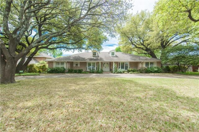 7514 Overdale Drive, Dallas, TX 75254 (MLS #14064124) :: The Heyl Group at Keller Williams