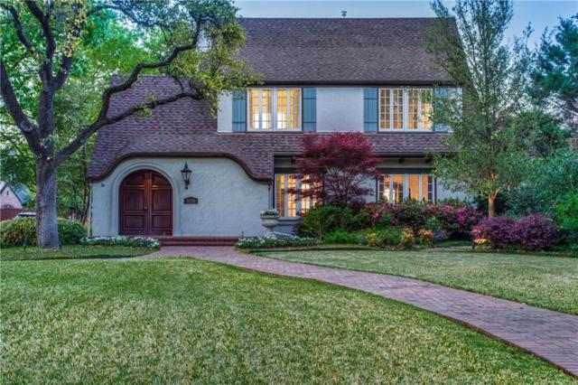 3220 Beverly Drive, Highland Park, TX 75205 (MLS #14064198) :: The Chad Smith Team