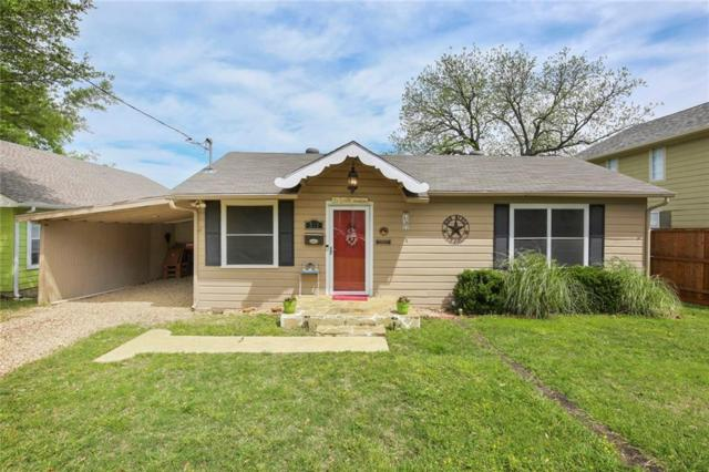 521 E Estill Street, Grapevine, TX 76051 (MLS #14065001) :: Frankie Arthur Real Estate