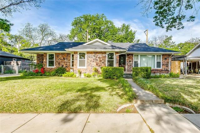 1013 Bonnie Brae Avenue, Fort Worth, TX 76111 (MLS #14065394) :: RE/MAX Town & Country