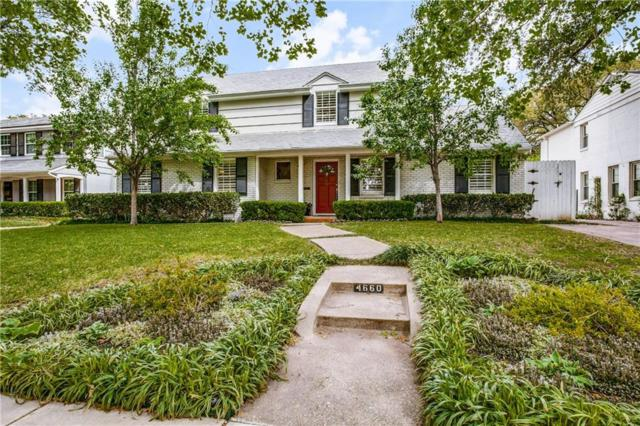 4660 Beverly Drive, Highland Park, TX 75209 (MLS #14065507) :: The Chad Smith Team