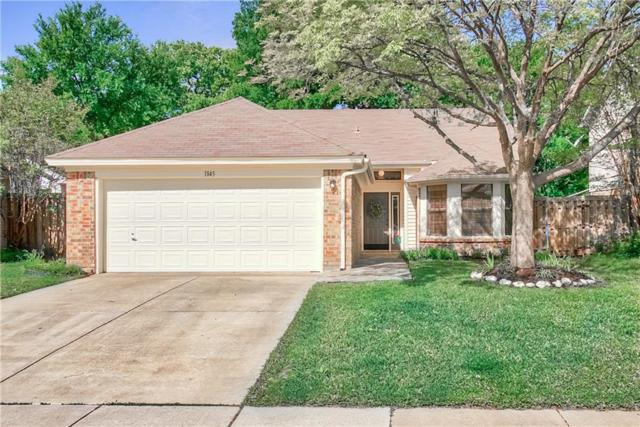 1845 Sonnet Drive, Grapevine, TX 76051 (MLS #14065573) :: The Tierny Jordan Network