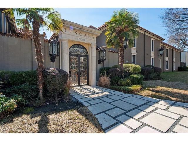 5912 Sandhurst #237, Dallas, TX 75206 (MLS #14065731) :: Van Poole Properties Group