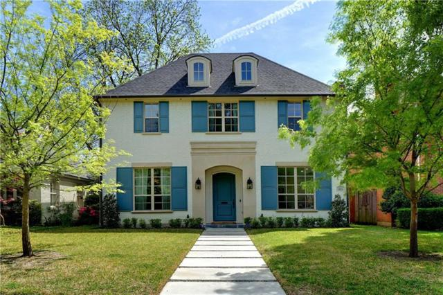 3821 Stanford Avenue, University Park, TX 75225 (MLS #14066191) :: RE/MAX Town & Country