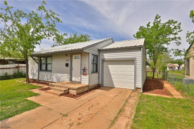 1410 Shelton Street, Abilene, TX 79603 (MLS #14066305) :: RE/MAX Town & Country