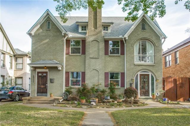 4027 Prescott Avenue, Dallas, TX 75219 (MLS #14066962) :: RE/MAX Landmark