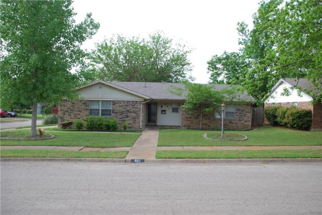 801 Redbud Street, Crowley, TX 76036 (MLS #14066996) :: RE/MAX Town & Country
