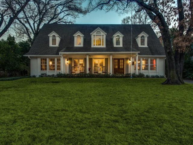 5570 Nakoma Drive, Dallas, TX 75209 (MLS #14067273) :: RE/MAX Town & Country
