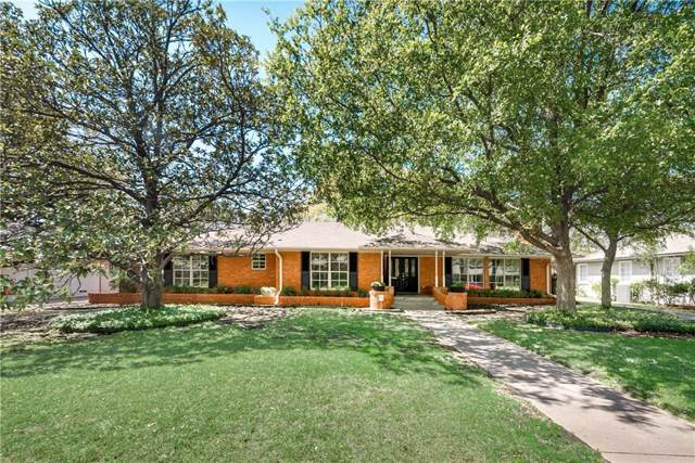 11335 Crest Brook Drive, Dallas, TX 75230 (MLS #14067290) :: Robbins Real Estate Group