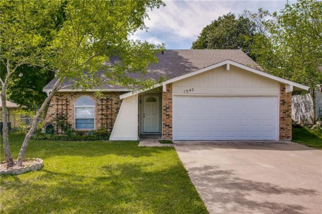 1543 Shannon Drive, Duncanville, TX 75137 (MLS #14067689) :: Tenesha Lusk Realty Group