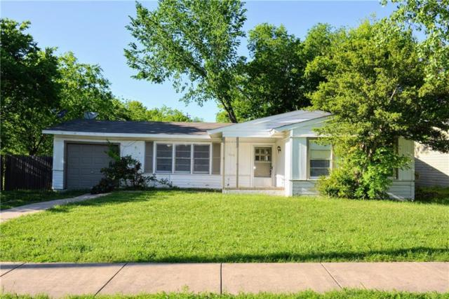 1605 Florence Street, Arlington, TX 76010 (MLS #14067786) :: RE/MAX Town & Country