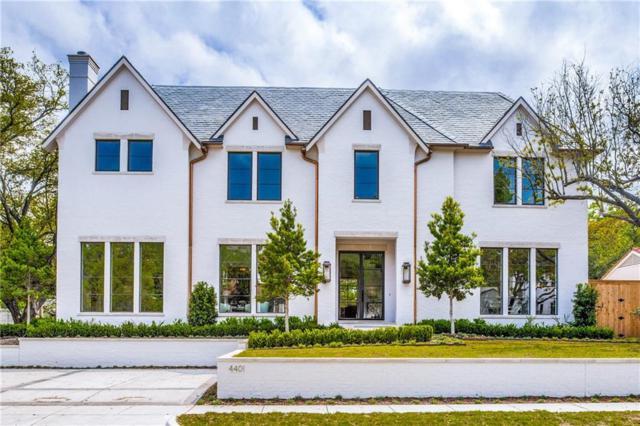 4401 Stanhope Street, University Park, TX 75205 (MLS #14067977) :: Van Poole Properties Group