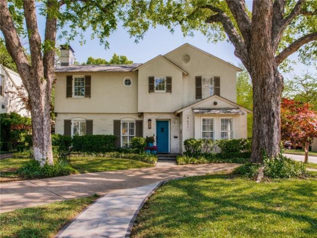 4677 Livingston Avenue, Highland Park, TX 75209 (MLS #14067992) :: Robbins Real Estate Group