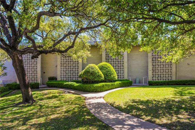 2301 Ridgmar Plaza #16, Fort Worth, TX 76116 (MLS #14068028) :: Team Hodnett
