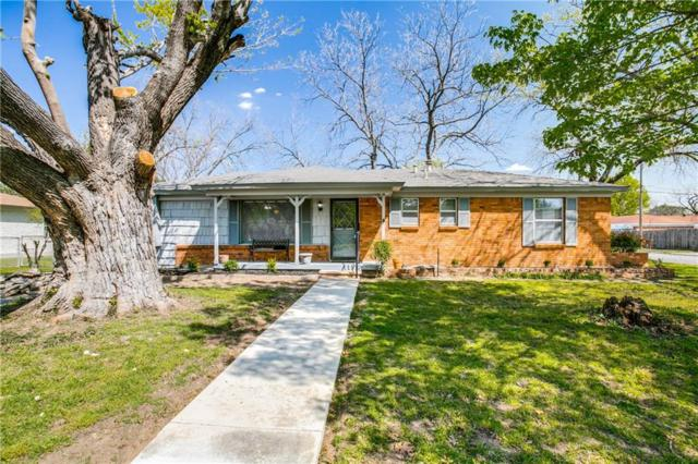1128 Valentine Street, Hurst, TX 76053 (MLS #14068478) :: RE/MAX Town & Country