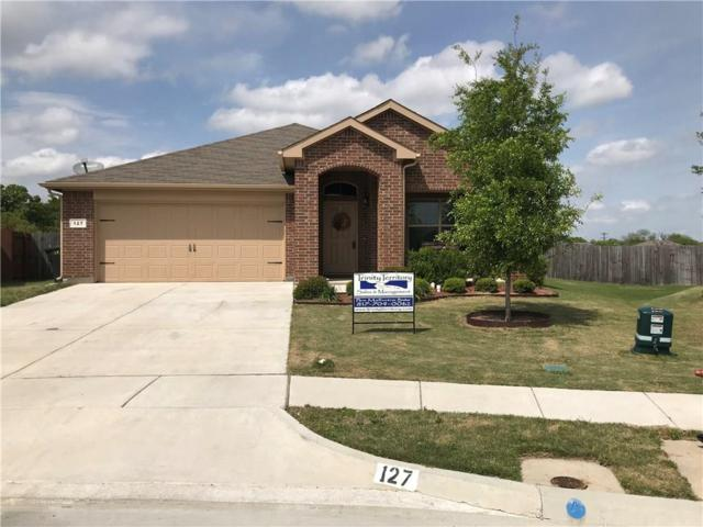 127 Creekview Drive, Azle, TX 76020 (MLS #14068521) :: RE/MAX Landmark