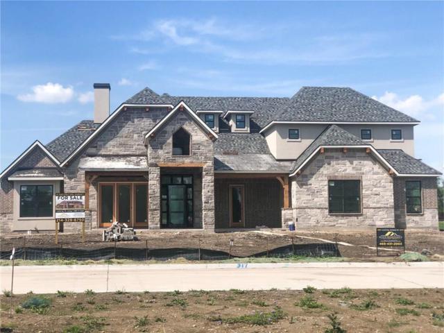 317 Knights Trail, Heath, TX 75032 (MLS #14068575) :: RE/MAX Landmark