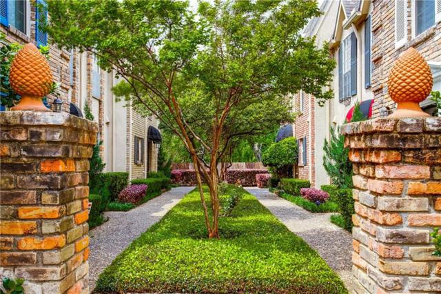 4017 Buena Vista Street #103, Dallas, TX 75204 (MLS #14069102) :: Team Hodnett