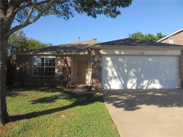 1408 Mosscreek Drive, Denton, TX 76210 (MLS #14069250) :: North Texas Team | RE/MAX Lifestyle Property