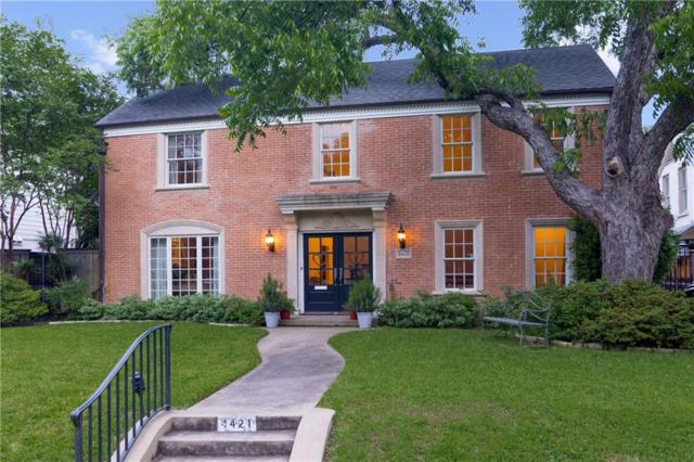 4421 Belclaire Avenue, Highland Park, TX 75205 (MLS #14069456) :: The Chad Smith Team