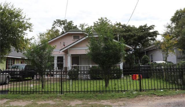 806 E 12TH Street, Dallas, TX 75203 (MLS #14069530) :: RE/MAX Landmark