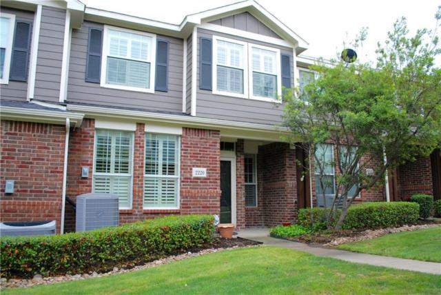 2220 Stonepark Place, Mckinney, TX 75071 (MLS #14069639) :: Team Hodnett