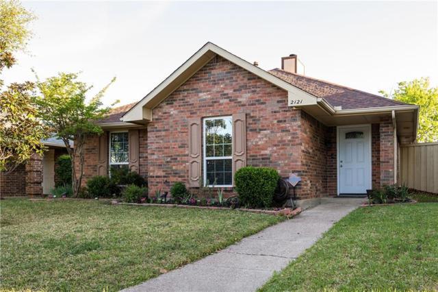 2121 Falcon Ridge Drive, Carrollton, TX 75010 (MLS #14069665) :: Tenesha Lusk Realty Group