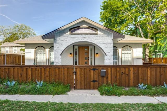107 N Polk Street, Dallas, TX 75208 (MLS #14069746) :: Van Poole Properties Group