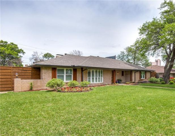 4817 Mill Run Road, Dallas, TX 75244 (MLS #14069831) :: RE/MAX Town & Country