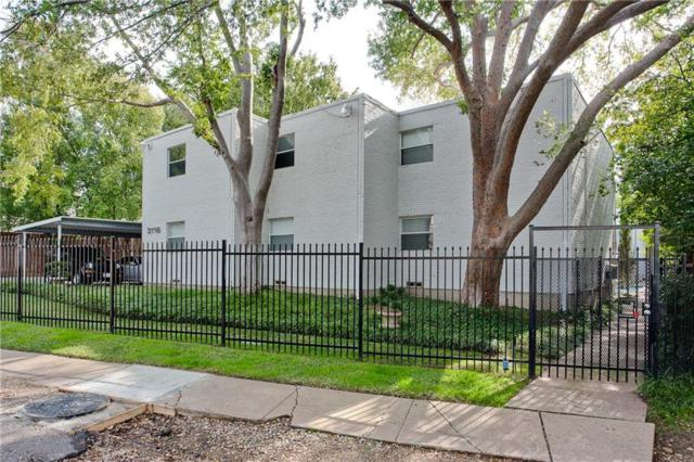 3116 Mahanna Street #2, Dallas, TX 75235 (MLS #14070260) :: Van Poole Properties Group