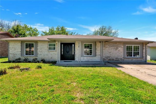 714 N Hunters Glen Circle, Arlington, TX 76015 (MLS #14070334) :: RE/MAX Town & Country
