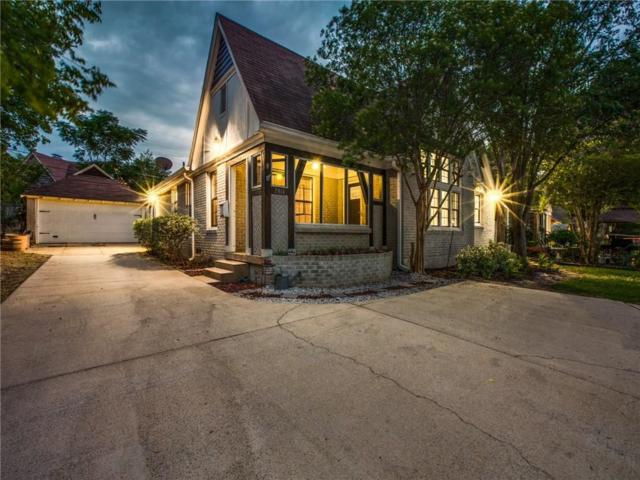 2814 W Jefferson Boulevard, Dallas, TX 75211 (MLS #14070371) :: The Hornburg Real Estate Group