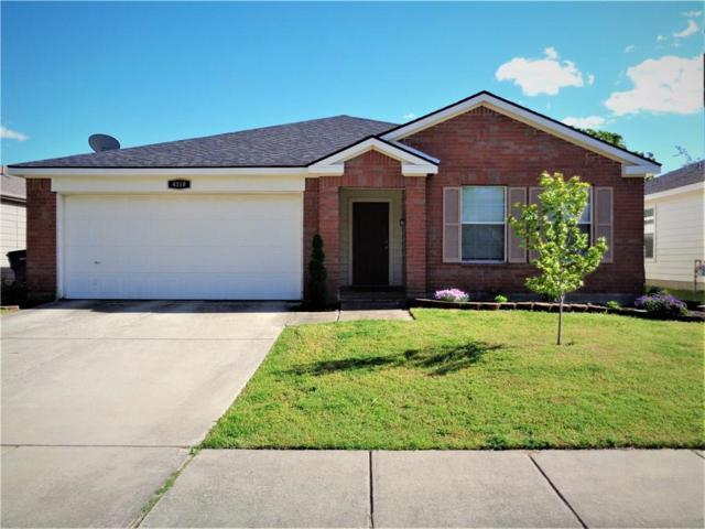 4310 Hawk Lane, Sherman, TX 75092 (MLS #14070393) :: RE/MAX Town & Country