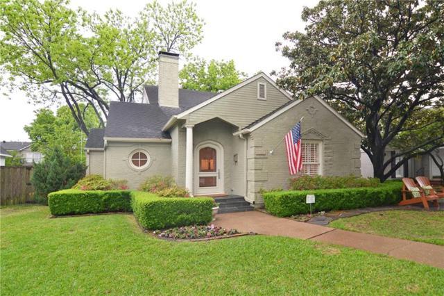 4105 Hanover Street, University Park, TX 75225 (MLS #14070433) :: Van Poole Properties Group