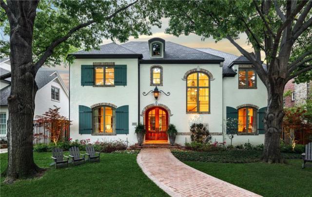 3415 Centenary Avenue, University Park, TX 75225 (MLS #14070513) :: Van Poole Properties Group