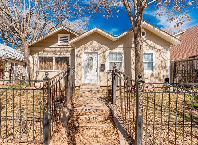 5235 Bonita Avenue, Dallas, TX 75206 (MLS #14070584) :: The Hornburg Real Estate Group