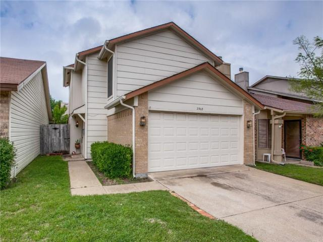 2965 Canis Circle, Garland, TX 75044 (MLS #14070676) :: RE/MAX Town & Country