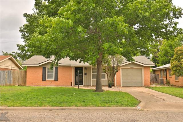 3133 Edgemont Drive, Abilene, TX 79605 (MLS #14070792) :: RE/MAX Town & Country