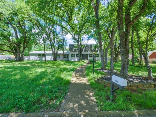 18021 Fox Hollow Drive, Mansfield, TX 76063 (MLS #14070972) :: The Hornburg Real Estate Group