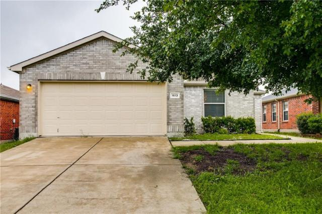 1613 Crown Point Drive, Little Elm, TX 75036 (MLS #14071128) :: The Good Home Team